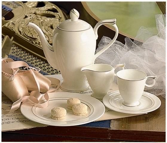 Hutschenreuther Ballerine Arabesque: Kaffee-Untertasse 15 cm