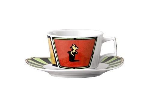 Rosenthal Flash Love Story: Teetasse 2-tlg. (=Kombitasse 2-tlg.) 0,20 ltr.