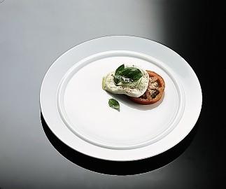 Rosenthal Cupola Weiss - Weiß: Frühstücksteller 21 cm