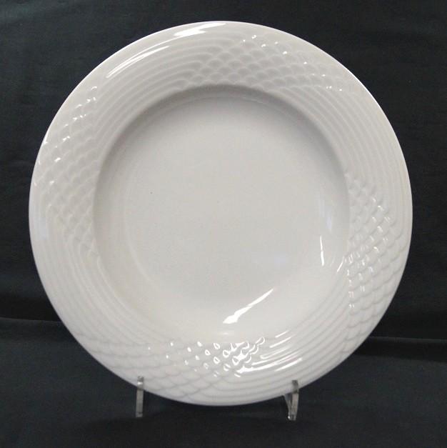 Hutschenreuther Scala Bianca - Weiss - glasiert: Suppenteller 24 cm