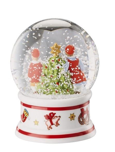 Hutschenreuther Christmas Memories - Ole Winther: Schneekugel Höhe 8,5 cm ; Durchm: 6 cm;