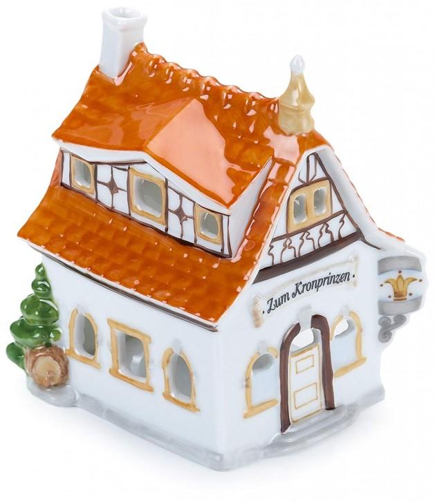 Hutschenreuther Nostalgische Weihnachten - Weihnachtsdorf - Porzellanzug: Kronprinz - Wirtshaus