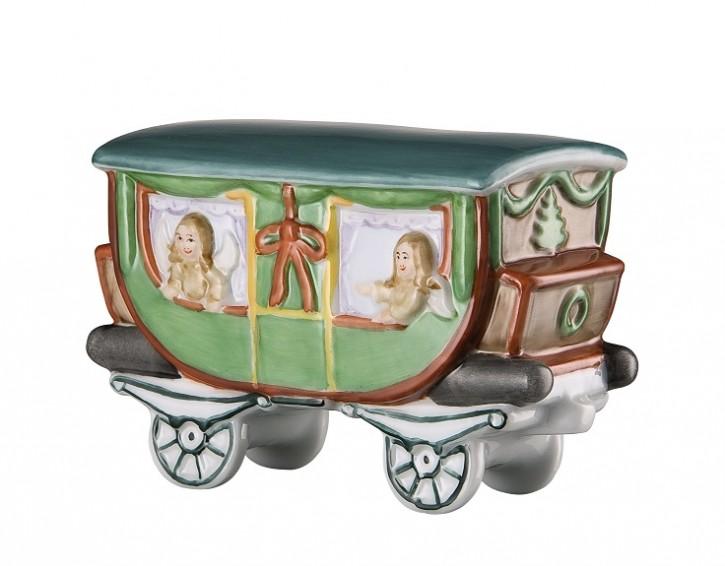 Hutschenreuther Nostalgische Weihnachten - Weihnachtsdorf - Porzellanzug: Personenwagen