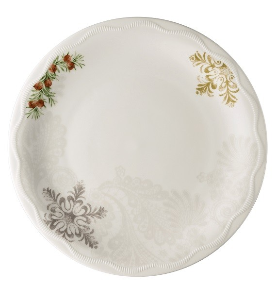 Hutschenreuther Winterromantik dekoriert: Frühstücksteller 22 cm