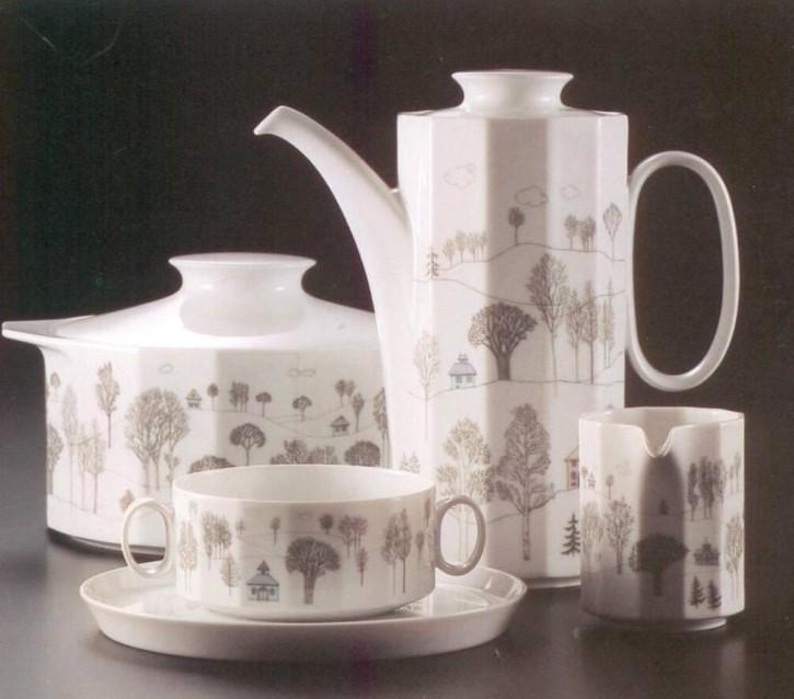 Rosenthal Polygon Winterreise: Vase H = 8 cm; Ø = 8 cm