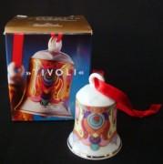 Rosenthal Miniglocke: Jingle Bells Design Björn Wiinblad Motiv 6