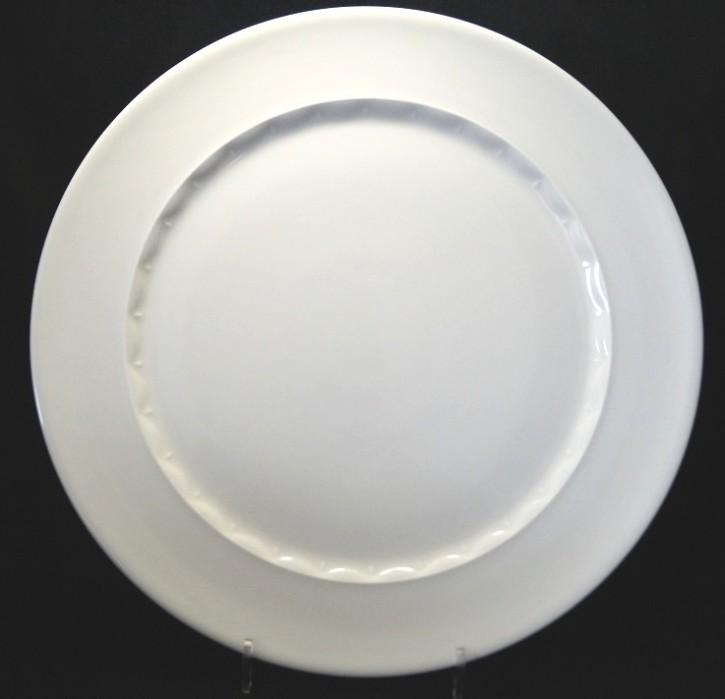 Rosenthal Anna Weiss - Pearl China: Platzteller (=Kuchenplatte rund) 31,5 cm