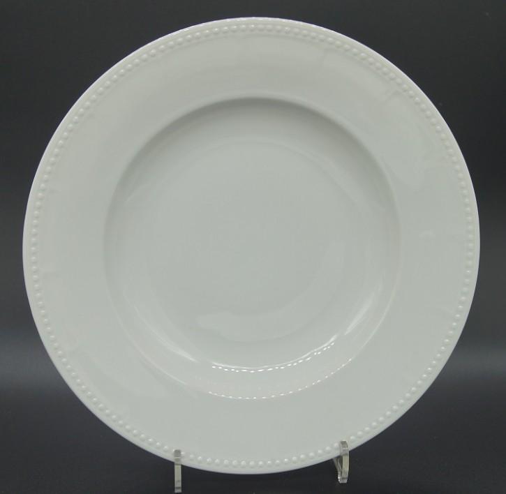 Hutschenreuther Chevalier weiss: Suppenteller 25,5 cm