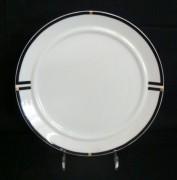 Rosenthal Cupola Nera: Frühstücksteller 21 cm