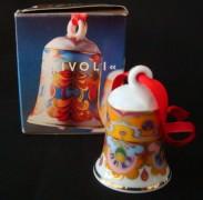 Rosenthal Miniglocke: Jingle Bells Design Björn Wiinblad Motiv 11