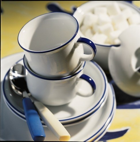 Kaffeetasse 2tlg Family Mocca Thomas Porzellan