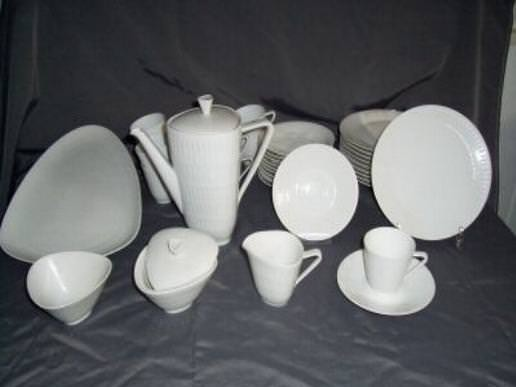 Hutschenreuther Apart Weiss - Weiß: Frühstücksteller 20 cm