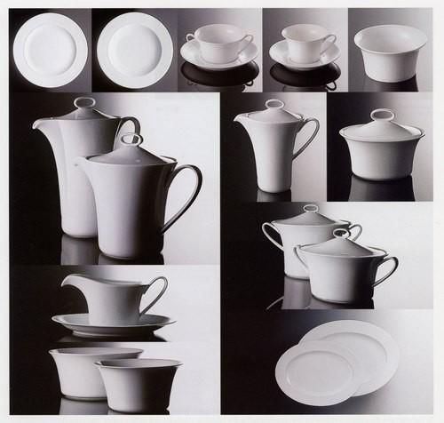 Rosenthal Idillio Weiss - Weiß: Frühstücksteller 22 cm