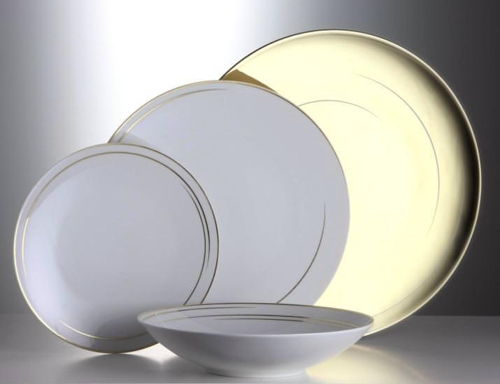 rosenthal tac 02 dynamic gold speiseteller 28 cm 529 3020. Black Bedroom Furniture Sets. Home Design Ideas