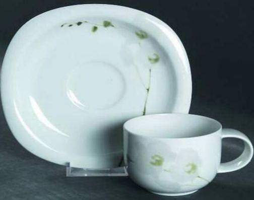 rosenthal suomi rangoon white orchid teetasse 2 tlg 0. Black Bedroom Furniture Sets. Home Design Ideas