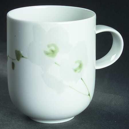 rosenthal suomi rangoon white orchid schokobecher 0 35. Black Bedroom Furniture Sets. Home Design Ideas
