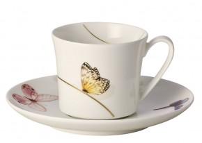 Rosenthal Curve Pepela: Espressotasse 2-tlg. 0,10 ltr. UT = 12 cm / Espresso cup & saucer