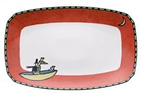 Rosenthal Flash Love Story: Servierplatte / Platte rechteckig 36 cm (35 x 22 cm)