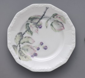 Rosenthal Maria Brombeere: Frühstücksteller 21 cm