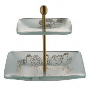 Rosenthal Andy Warhol-Collection Golden Angels X-Mas: Etagere Gold im Geschenkkarton
