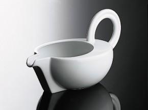 Rosenthal Cupola Weiss - Weiß: Sauciere klein - Buttersauciere 0,30 ltr.
