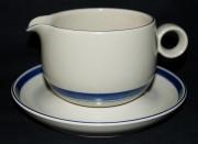 Rosenthal Terra Nastro: Sauciere 2-tlg. 0,60 ltr. UT = 17,5 cm
