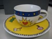 Rosenthal Yono Künstlertassen: Espressotasse 2-tlg. 0,07 ltr. / Design BAUDISSIN