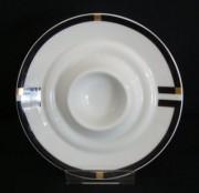 Rosenthal Cupola Nera: Eierbecher flach - mit Ablage