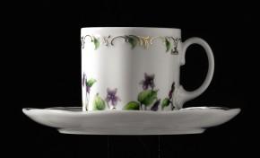 Rosenthal Monbijou Petite Violette: Espresso-/Mokkatasse 2-tlg. 0,11 ltr.