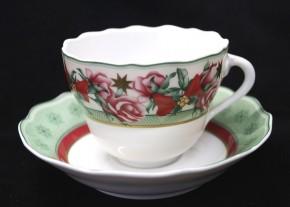 Rosenthal Maria Theresia Parklane Christmas: Kaffeetasse 2-tlg. UT = 14 cm
