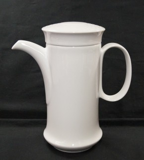 Hutschenreuther Scala Bianca - Weiss - glasiert: Mokka-/Espressokanne H = 18 cm - 0,70 ltr.