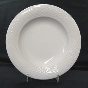 Hutschenreuther Scala Bianca - Weiss - glasiert: Suppenteller 21,5 cm