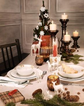 Winterromantik dekoriert