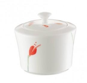 Hutschenreuther Luna Shalima Premium Bone China: Zuckerdose für 6 Pers. 0, 25 ltr. mit Deckel komplett