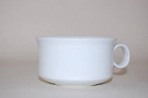 Hutschenreuther Scala Biskuit Seta Weiss - Weiß: Tee-Obertasse H = 5 cm; Durchm.: 9 cm