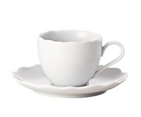 Hutschenreuther Ann Marie Weiss: Espressotasse 2-tlg. 0,10 ltr. Ut = 12,5 cm