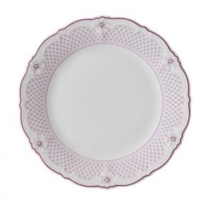 Hutschenreuther Ballerine Estelle Pink Grid: Frühstücksteller 20 cm mit Fahne