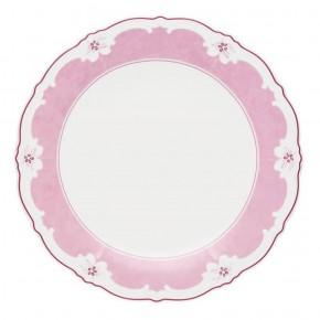 Hutschenreuther Ballerine Estelle Pink Solid: Speiseteller 25 cm mit Fahne