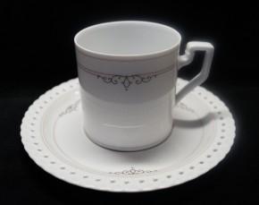 Hutschenreuther Comtesse Constanze: Kaffeetasse 2-tlg., 0,18 ltr., UT = 15 cm