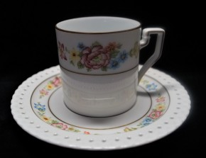 Hutschenreuther Comtesse Marie Louise: Kaffeetasse 2-tlg. 0,18 ltr. UT= 15 cm