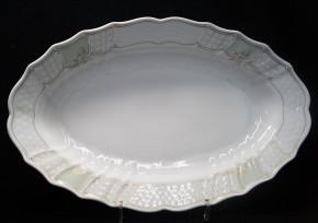 Hutschenreuther Dresden Collier: Platte oval 35 x 23 cm