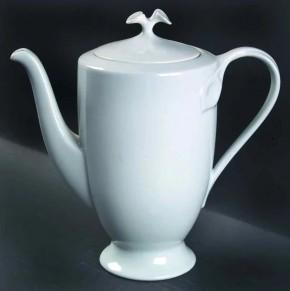 Hutschenreuther Fleuron Cloe Blanche / Weiss: Kaffeekanne für 6 Personen 1,25 ltr.
