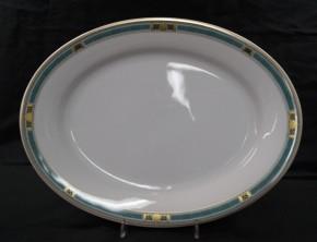 Hutschenreuther Galleria Firenze: Platte oval 35 x 26 cm
