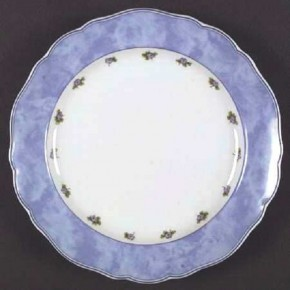 Hutschenreuther Maria Theresia Amalienburg: Frühstücksteller 19 cm Fahne = Blau;