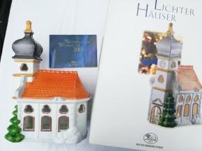 Hutschenreuther Nostalgische Weihnachten - Weihnachtsdorf - Porzellanzug: Kirche