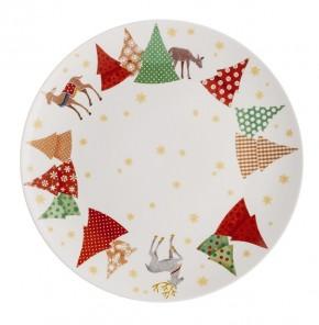 Hutschenreuther Sammelserie Weihnachtslieder - O Tannenbaum: Frühstücksteller 22 cm