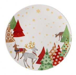 Hutschenreuther Sammelserie Weihnachtslieder - O Tannenbaum: Plätzchenteller 28 cm