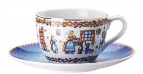 Hutschenreuther Sammelkollektion 2020 Weihnachtsbäckerei: Cappuccinotasse 2-tlg. 0,22 ltr. Ut = 16 cm Künstler Renàta