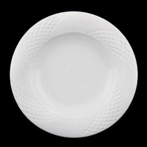 Hutschenreuther Scala Bisquit Seta Weiss - Weiß: Pastateller - Gourmetteller rund tief 32,5 cm