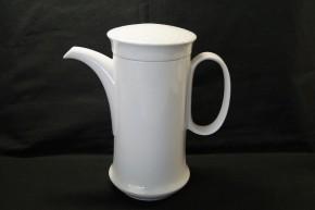 Hutschenreuther Scala bianca - Weiss - glasiert: Kaffeekanne f. 6 Pers., 1,10 ltr.